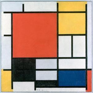 mondrian art 1921