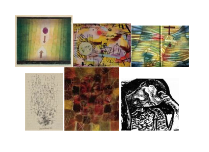 Works by Paul Klee