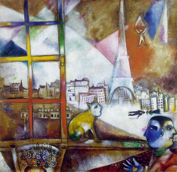 chagall_1913_paris_through_window