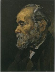 Portrait-of-an-Old-Man-with-Beard - Van Gogh - art