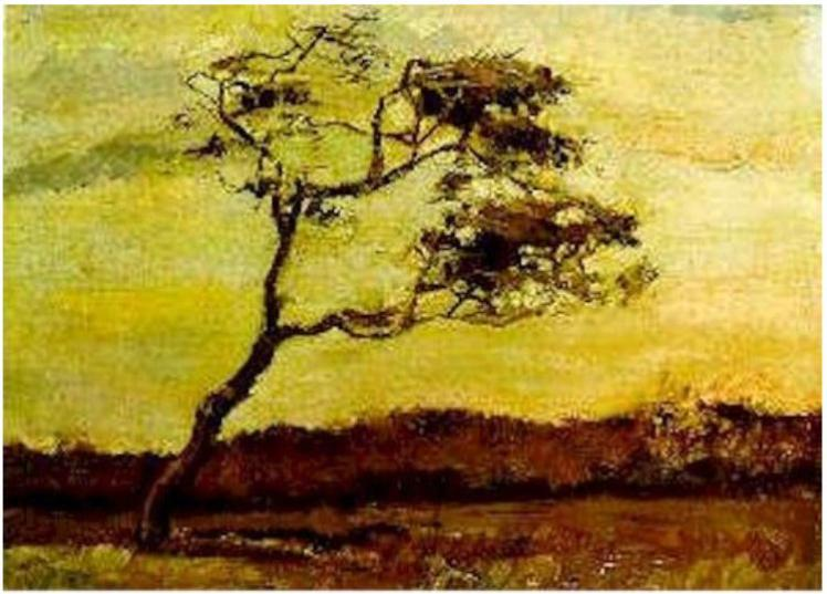 VanGogh_Wind-Beaten-Tree, 1883