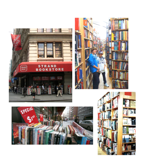 srand book store in NYC