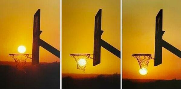 Basketball sunset from darren rovell_twitter