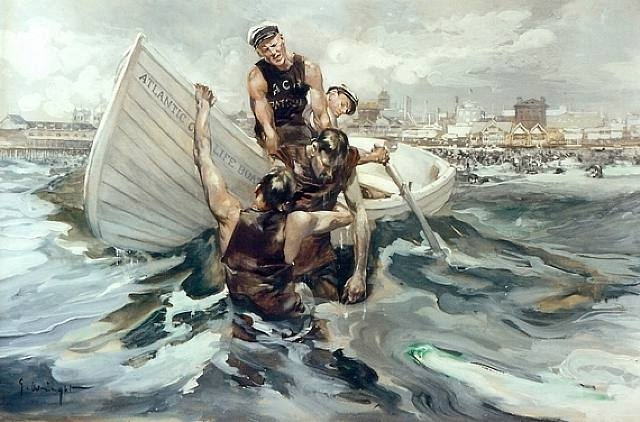 rescue at sea_georgehand-wright