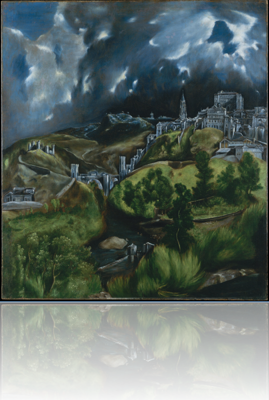 view of toledo_el_greco_with reflection_priorhouse