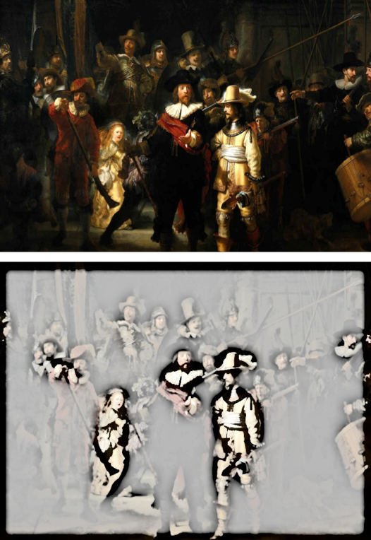 rembrandts night watch shows contrast_priorhosue