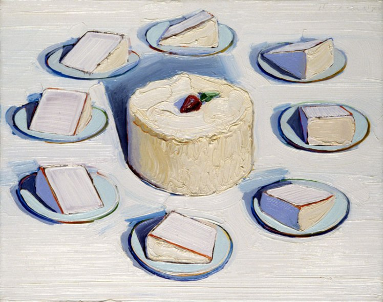 wayne-thiebaud-cake and slices