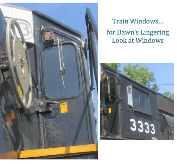 old train windows - priorhouse 2014
