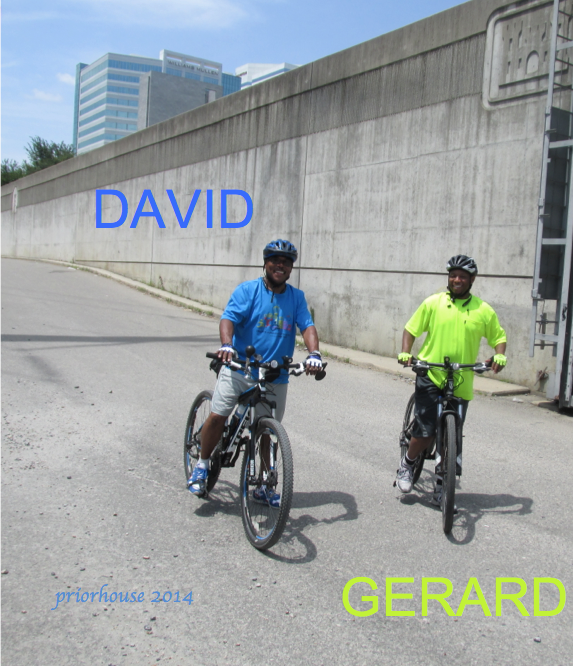 DAVID AND GERARD -cycling in rva- 2014