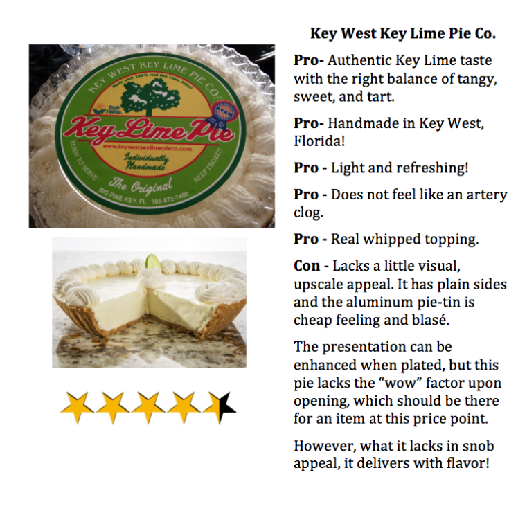 priorhouse 2014 key lime pie review