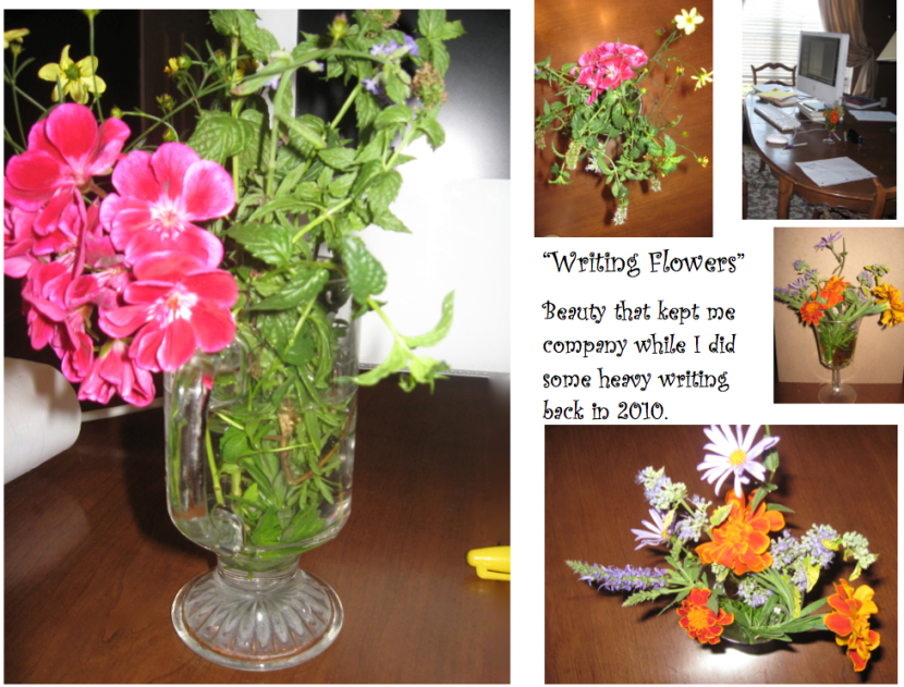 writing flowers from 2010 - priorhouse 2014