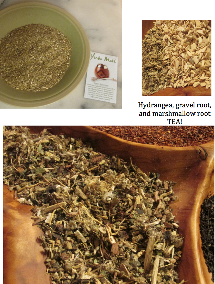 yerba mate and root tea - priorhouse 2014 - june
