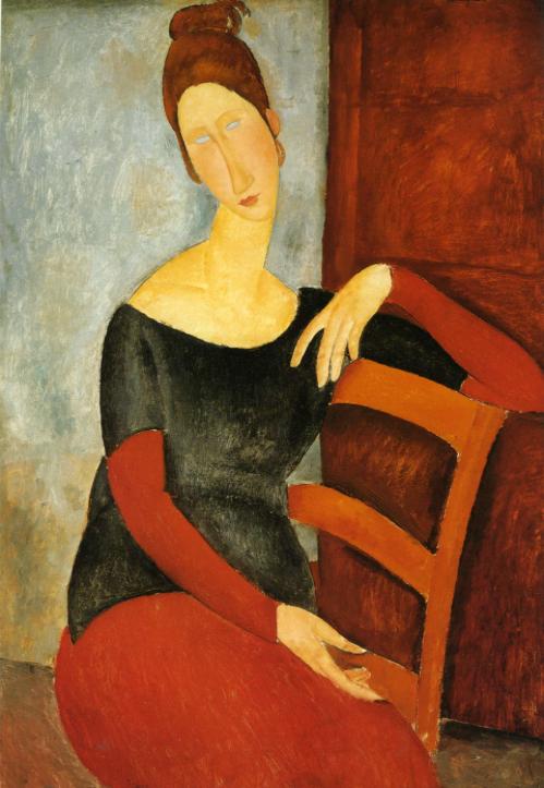 Jeanne Hebuterne  modiglini