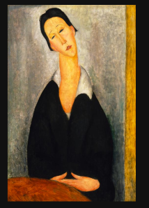 portrait of a polish woman - modigliani