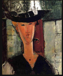 portrait of Madame Pompadour, 1914 - Modigliani