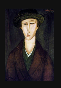 Portrait of Marevna, 1919 modigliani