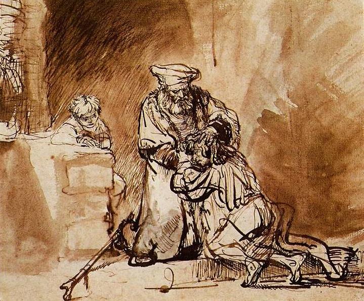 Rembrandts 1642 drawing