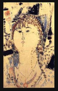 Rosa Porprina, 1915 modigliani