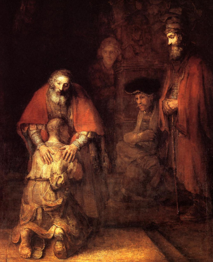 the return of the prodigal son rembrandt - priorhouse 2014