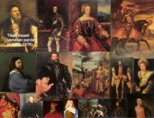 titian art collage - priorhosue