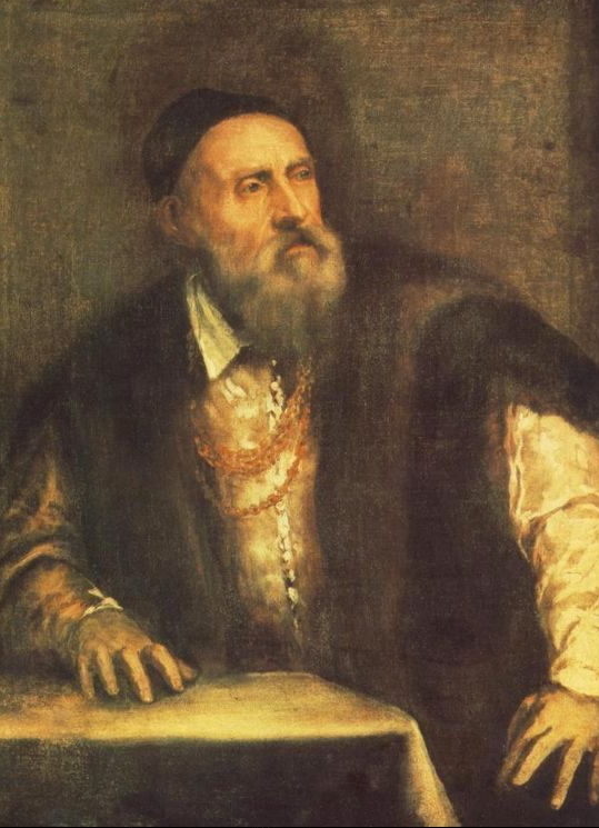titian color = Self-Portrait c. 1562