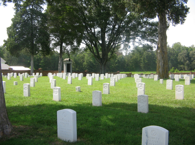 civil war cemetary