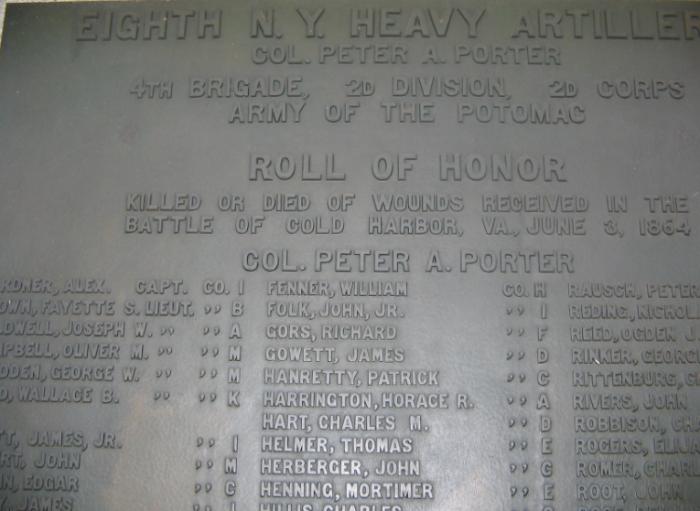 civil war roll of honor
