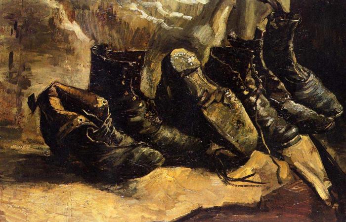Three-Pairs-of-Shoes-Vincent-van-Gogh-1886