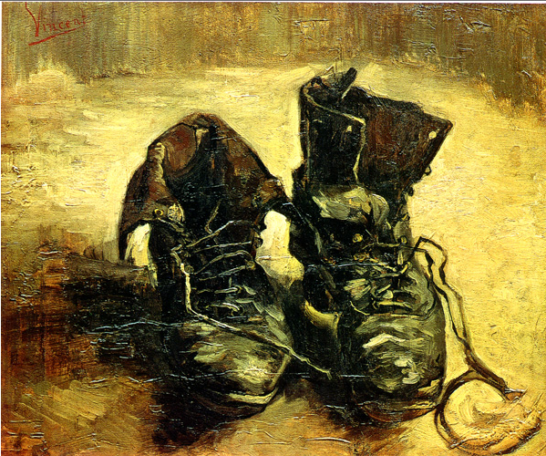 van gogh shoes 1885