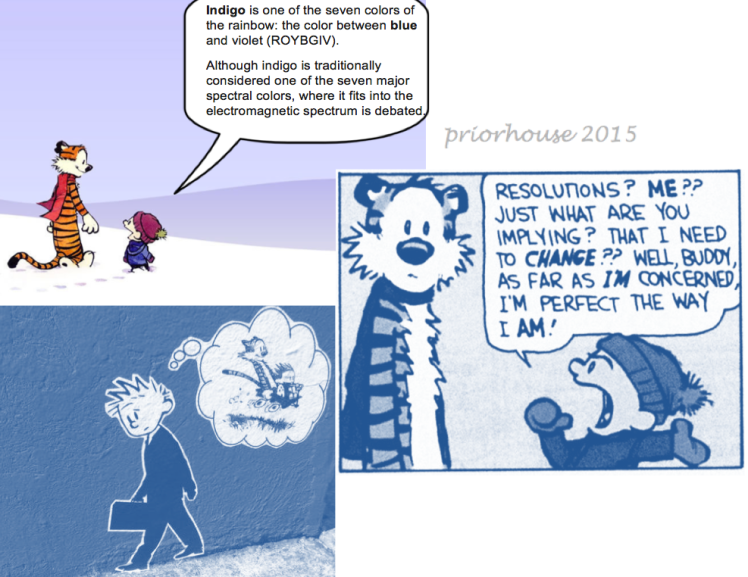 calvin and hobbes humor priorhouse 2015 street art -resolutions- indigo is between blue and violet