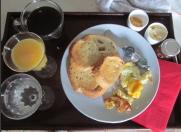 breakfast in bed for salt taste test