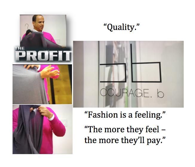fashion quote the profit