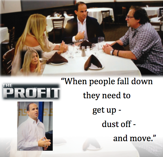 get up and move quote - the profit