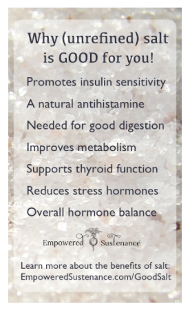 salt is good for you empowered sustenance