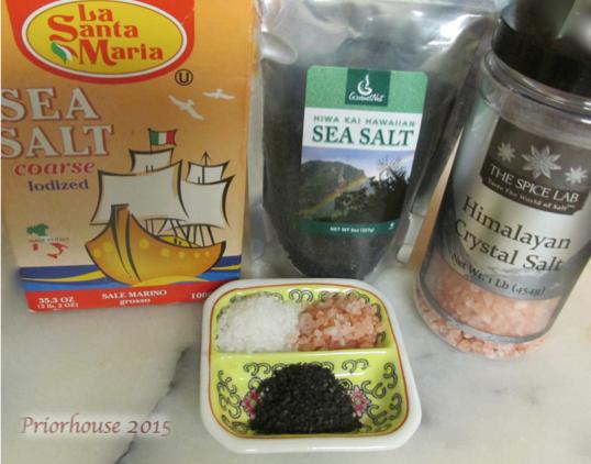 salt taste test