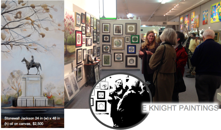 e knight paintings