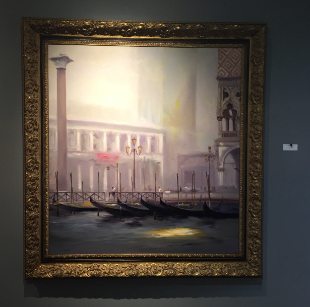 expensive painting of venice
