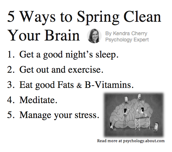 psych about clean brain