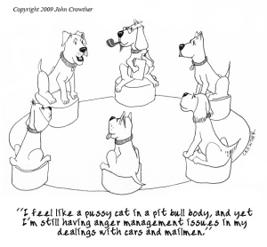 comic CanineTherapy