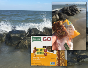kashi bars at beach