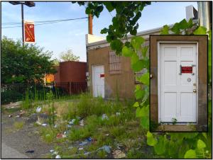 door-with-trash