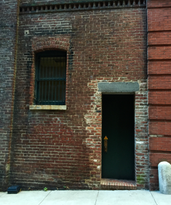 doors-bricks and bar window