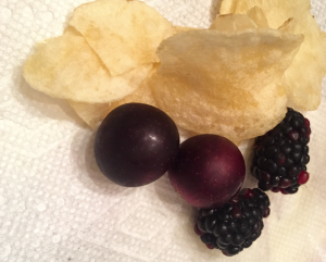 perfect snack - sweet and salty with phytonutrients