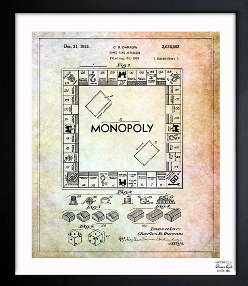 art-framed-monoploy-blueprints-1935
