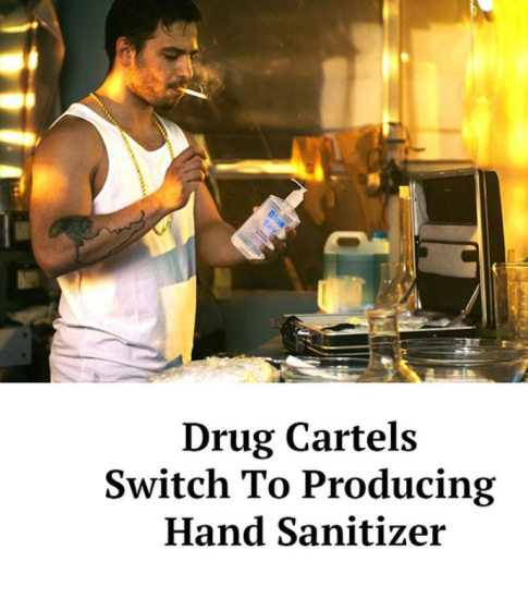 Sanitizer still in high demand