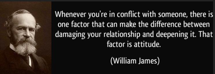 quote - william james attitude