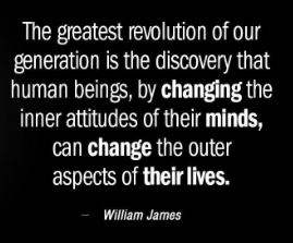quote - william james change and mind