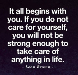 double take quote about self care