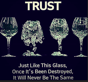 double take trust quote