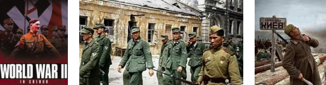 history show the ww 2 in color 2020